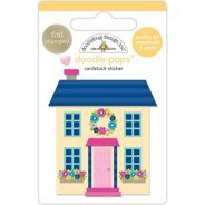 "3D Stickers ""Cute Cottage""."