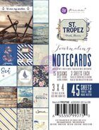 Набор карточек 3 x 4 Journaling Cards коллекция St. Tropez от Prima Marketing