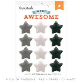 "Пластиковые звезды ""Made of Awesome""."