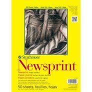 Набор бумаги Newsprint Paper Pad 23*30 см от Strathmore