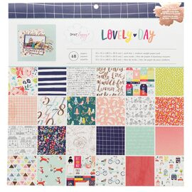 Набор бумаги 30*30 Dear Lizzy коллекция Lovely Day от American Crafts