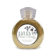 Глиттер Pure Sheen Glitter - Light Gold Nuvo от Tonic Studios