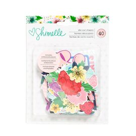 Набор высечек Shimelle коллекция Little By Little от American Crafts