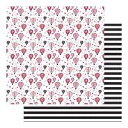 Лист бумаги Love Is In The Air коллекция Sweet Nothings от Fancy Pants Design