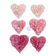 Бумажные цветы Mulberry Paper Flowers All The Hearts коллекция With Love от Prima Marketing