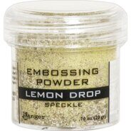 Пудра для эмбоссинга Embossing Powder Lemon Drop от Ranger