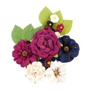 Бумажные цветы Mulberry Paper Flowers Recollections коллекция Darcelle от Prima Marketing