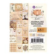 Набор карточек 3 x 4 Journaling Cards коллекция Autumn Sunset от Prima Marketing