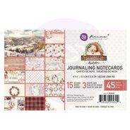 Набор карточек 4 x 6 Journaling Cards коллекция Christmas In The Country от Prima Marketing