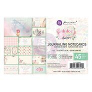 Набор карточек 4 x 6 Journaling Cards коллекция Dulce от Prima Marketing