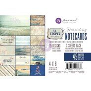 Набор карточек 4 x 6 Journaling Cards коллекция St. Tropez от Prima Marketing