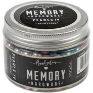 Декоративный жемчуг Memory Hardware Glass Pearls #4 Nightfall от  Prima Marketing