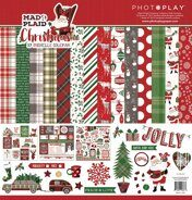 Набор бумаги Mad 4 Plaid Christmas Collection от PhotoPlayPaper