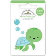 "3D Stickers ""Tiny Turtle""."