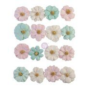 Бумажные цветы Mulberry Paper Flowers Little Kisses коллекция With Love от Prima Marketing