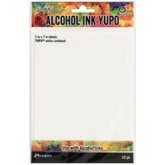 Набор кардстока Tim Holtz Alcohol Ink White Yupo Paper от Ranger