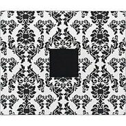 Папка на кольцах 30.5*30.5 см  Patterned Black & White Damask от American Crafts
