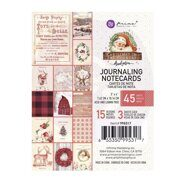 Набор карточек 3 x 4 Journaling Cards коллекция Christmas In The Country от Prima Marketing