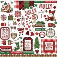 Набор наклеек Mad 4 Plaid Christmas Collection от PhotoPlayPaper