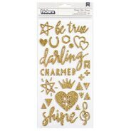 Наклейки Shine Thickers Stickers от Crate Paper