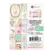Набор карточек 3 x 4 Journaling Cards коллекция Dulce от Prima Marketing