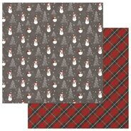 Лист бумаги Frosty Paper Mad 4 Plaid Christmas Collection от PhotoPlayPaper
