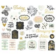 "Вырубка ""Beautiful""/Beautiful Bits & Pieces Die-Cuts."