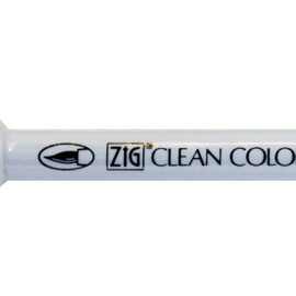 Маркер акварельный ZIG Clean Color Real Brush Mid Gray.