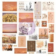 Высечки 2 Shapes, Tags, Words Ephemera with Foil Accents коллекция Golden Desert от Prima Marketing