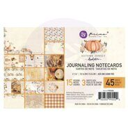 Набор карточек 4 x 6 Journaling Cards коллекция Autumn Sunset от Prima Marketing